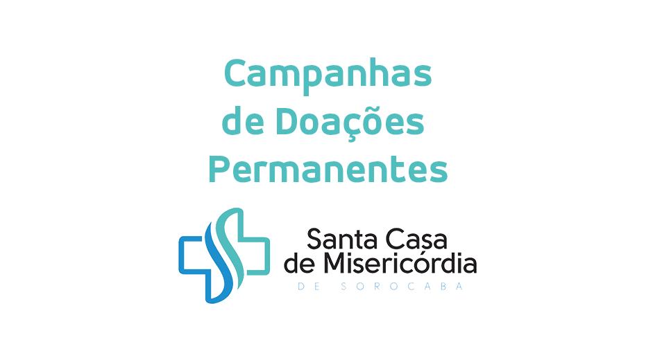 fa3d6b78a6 Campanhas de Doações Permanentes – Santa Casa de Misericórdia de ...